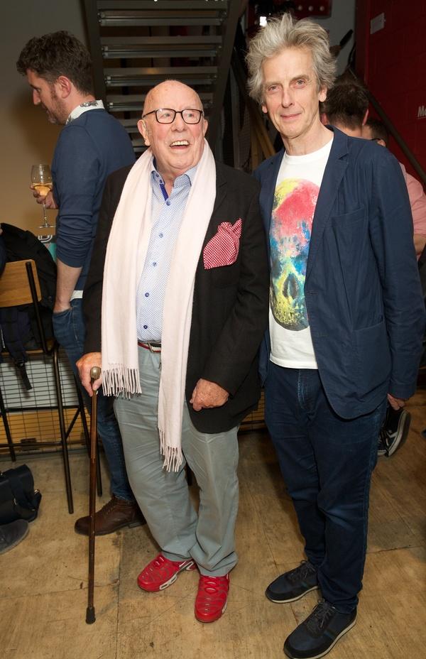 Richard Wilson & Peter Capaldi Photo