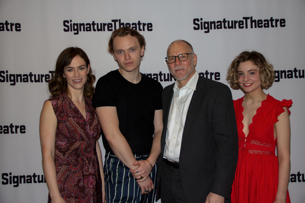 Maggie Siff, Gilles Geary, David Warshofsky, Lizzy DeClement