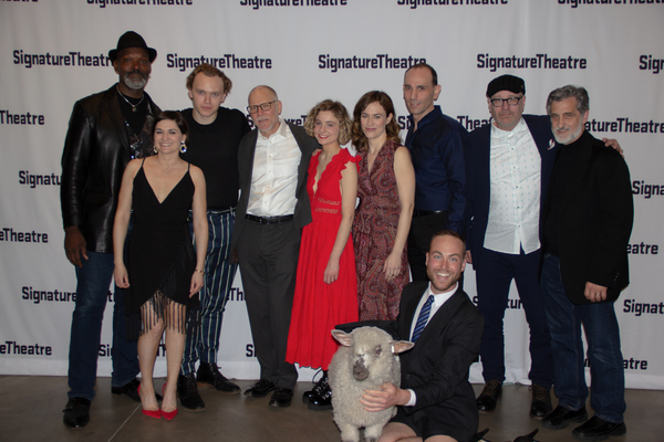Esau Pritchett, Flora Diaz, Gilles Geary, David Warshofsky, Lizzy DeClement, Maggie Siff, Andrew Rothenberg, Terry Kinney, William Berloni, Schuyler Beeman, and Annie the lamb