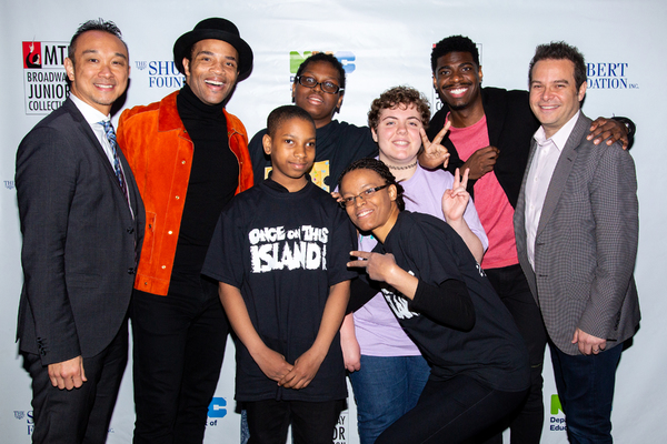 Lucius Young, James Harkness, Jawan M. Jackson, Peter Avery, and student performers