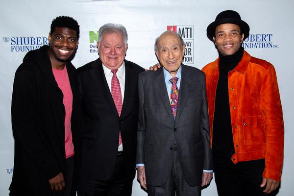 Jawan M. Jackson, Robert Wankel, Michael I. Sovern, James Harkness Photo