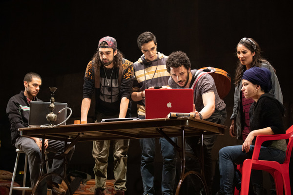Photo Flash: First Look at A.R.T.'s WE LIVE IN CAIRO