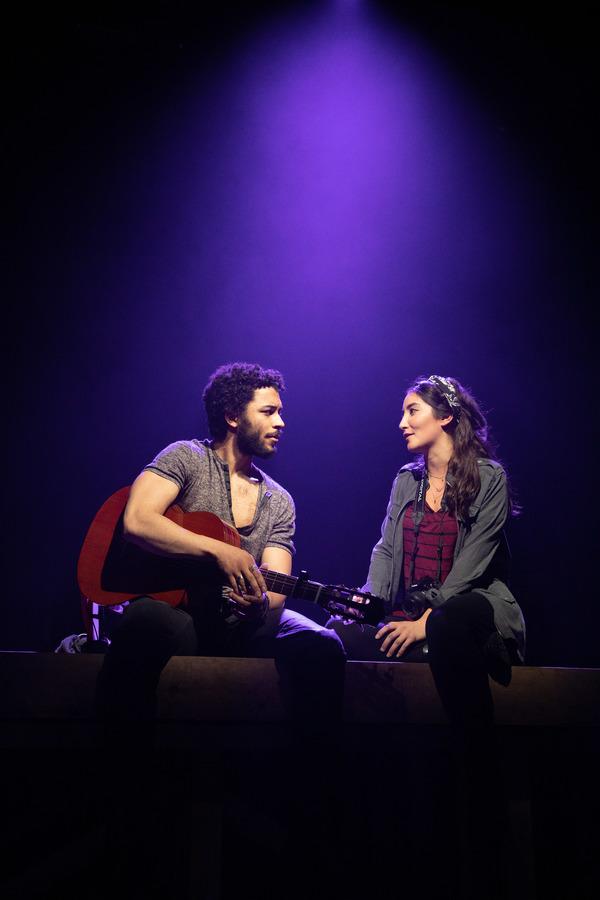 Jakeim Hart and Parisa Shahmir