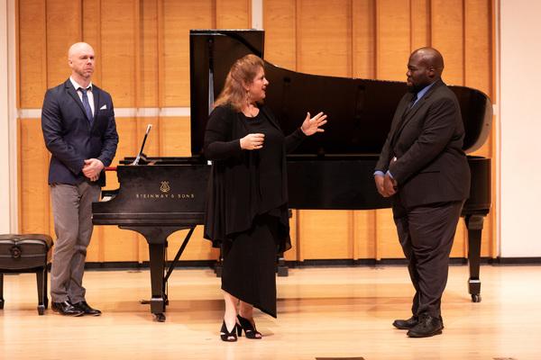 Allison Charney, Errin Brooks and Keith Chambers