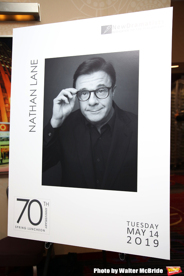 The New Dramatists 70th Annual Spring Luncheon honoring Nathan Lane at Marriott Marqu Photo