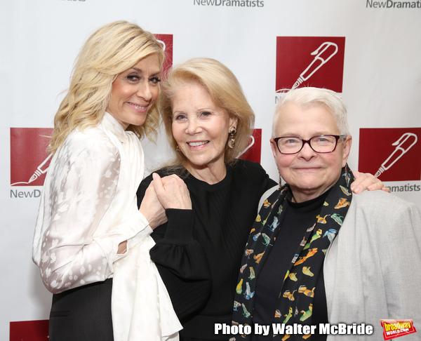 Judith Light, Daryl Roth and Paula Vogel