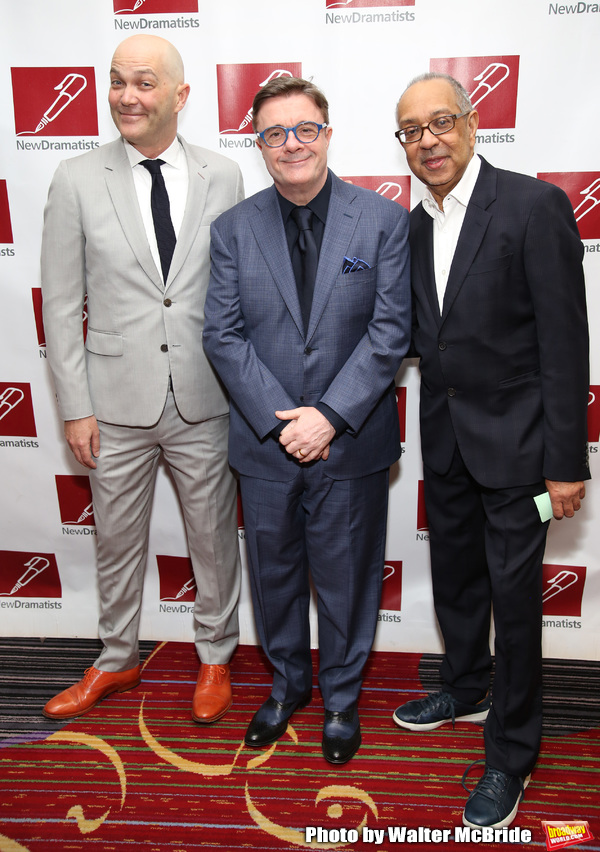 Taylor Mac, Nathan Lane and George C. Wolfe