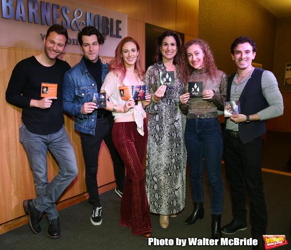Matthew Hydzik, Michael Campayno, Teal Wicks, Stephanie J. Block, Micaela Diamond and Jarrod Spector