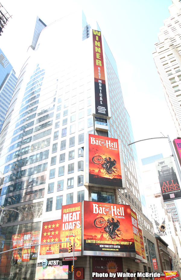 """Jim Steinman's """"Bat out of Hell - The Musical"""" Box Office Ticket Sale launch with Bus Photo"""