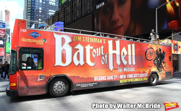 Photo Coverage: Jim Steinman's BAT OUT OF HELL Celebrates Arrival in NYC!