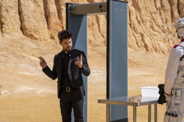 Dominic Cooper as Jesse Custer  Lachlan Moore/AMC/Sony Pictures Television