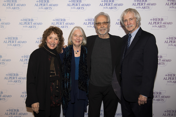 Lani Hall and Herb Alpert with friends