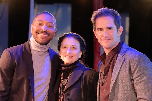 Kyle Abraham, Jacqulyn Buglisi, Andy Blankenbuehler Photo