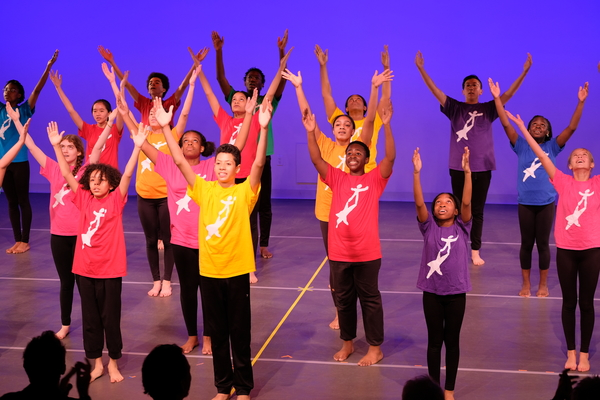 Photo Flash: National Dance Institute Celebrates The New Masters At Jacques' Art Nest Series