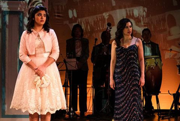 Alix Rhode (left) as Maruja and Sandra Delgado Photo