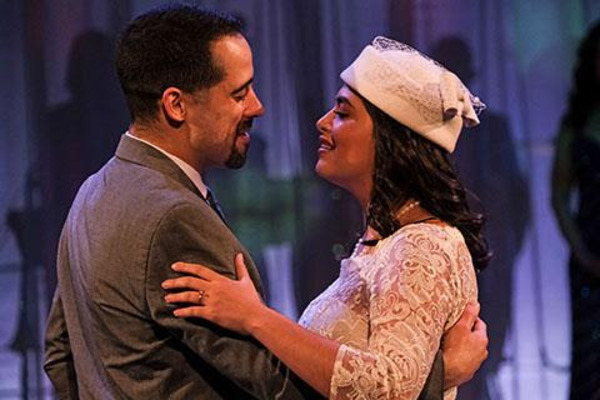 Tommy Rivera-Vega (left) as Henry and Alix Rhode as Maruja Photo