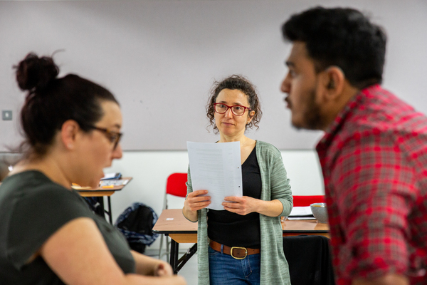 Photo Flash: Inside Rehearsal For Deafinitely Theatre's HORRIBLE HISTORIES' DREADFUL DEAF