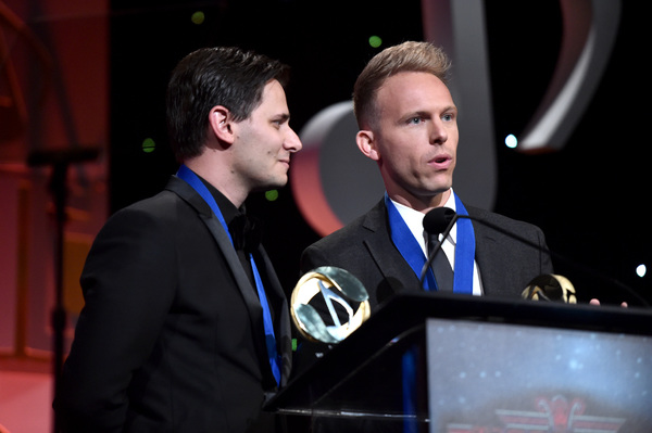 Photo Flash: Stephen Schwartz Presents Benj Pasek and Justin Paul with the ASCAP Vanguard Award