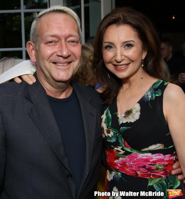 Michael John LaChiusa and Donna Murphy Photo