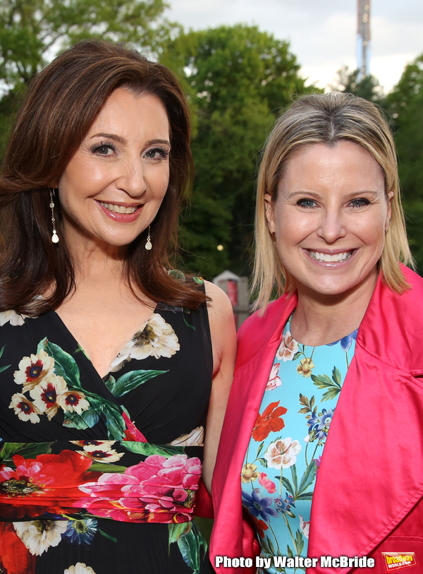 Donna Murphy and Michelle Kittrell