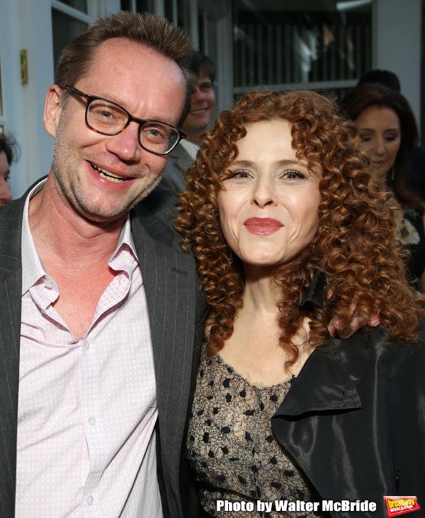 Michael Riedel and Bernadette Peters