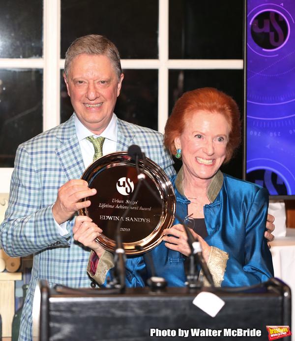Stanley Zareff and Edwina Sandys