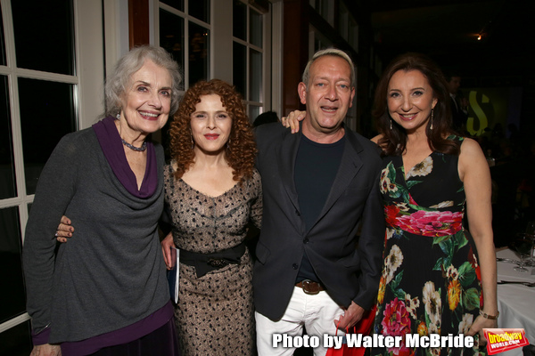 Mary Beth Peil, Bernadette Peters,Michael John LaChiusa and Donna Murphy Photo