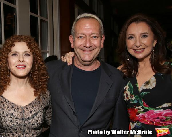Bernadette Peters, Michael John LaChiusa and Donna Murphy Photo