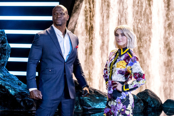 Terry Crews, Julianne Hough