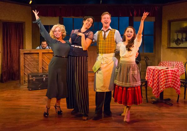 Jessica Riloff, Eleni Delopoulos, Zachary J. Chiero, and Eileen Cella Photo