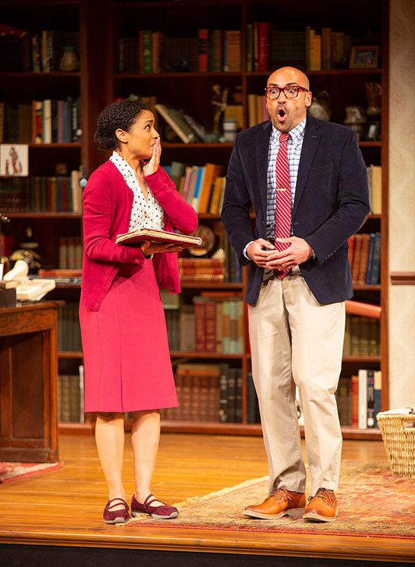 Shay Vawn as Daphne and Jevon McFerrin as Ralph Photo