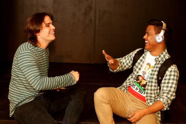 Jayde Mitchell (Jeremy) and Kevin Corpuz (Michael) Photo