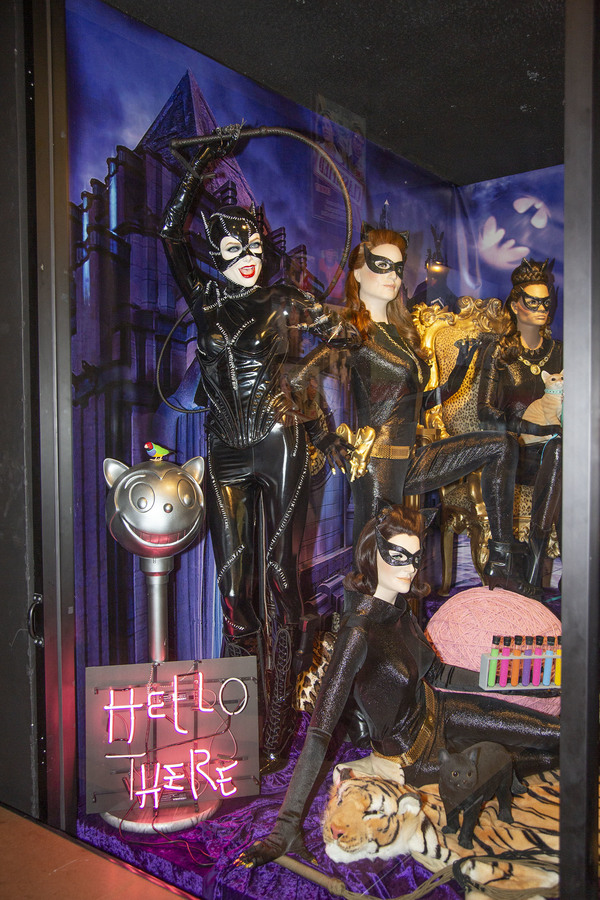 Catwomen Exhibit features Michelle Pfeiffer, Julie Newmar, Lee Meriwether and Eartha  Photo
