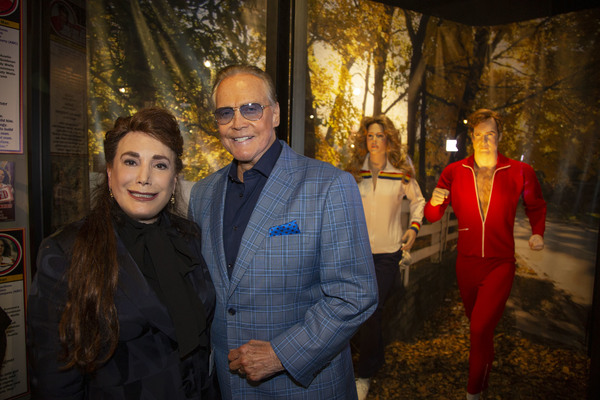 President and Founder of The Hollywood Museum, Donelle Dadigan, and Lee Majors Photo