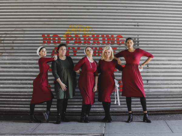 Photo Flash: Cast Members From THE HANDMAIDS MUSICAL Take to the Highline