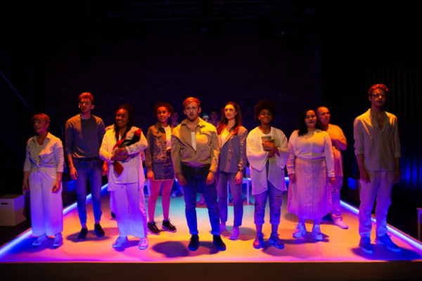 Elegies for Angels, Punks and Raging Queens at the Union Theatre in Southwark. Photo credit: Mark Senior PR