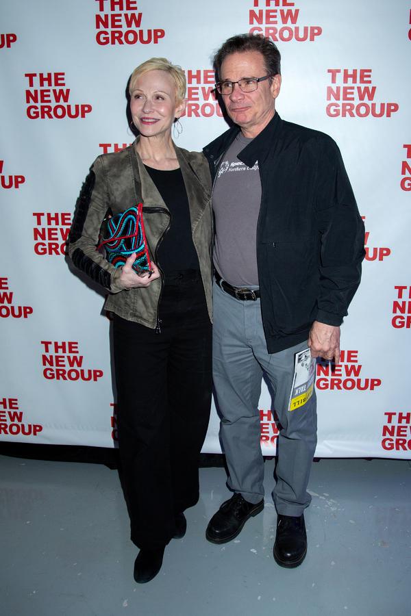 Tracy Shayne, Peter Scolari Photo