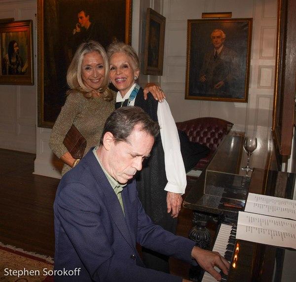 Eda Sorokoff & Elizabeth Sullivan, Ian Herman, piano Photo