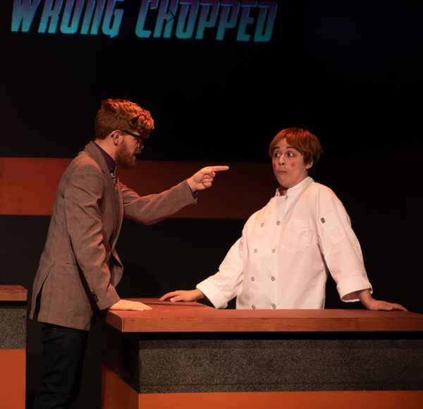 Photo Flash: First Look at WRONG CHOPPED at Firehouse