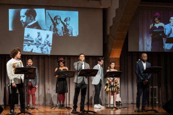 Michael Stiggers and Ronve O'Daniel. Whitney Bashor, Oyoyo Joi, Andrew Chappelle, Zoe Photo