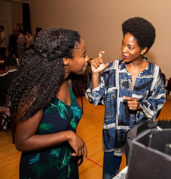 Adenike Thomas and Latoya Edwards Photo