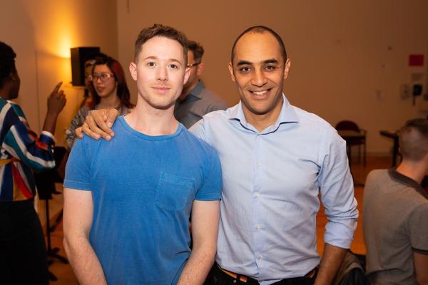 Chris Urch and Saheem Ali Photo