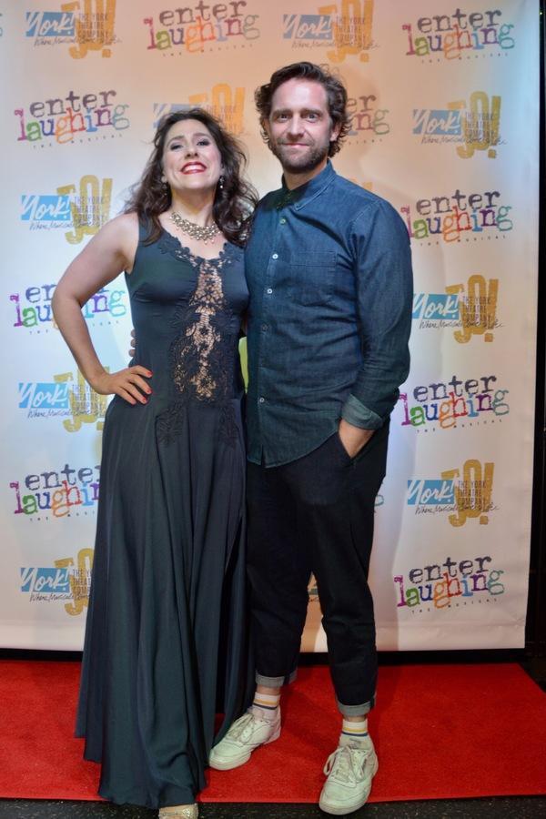 Farah Alvin and Colin Hanlon