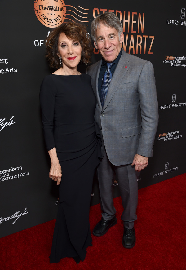 Andrea Martin and Stephen Schwartz