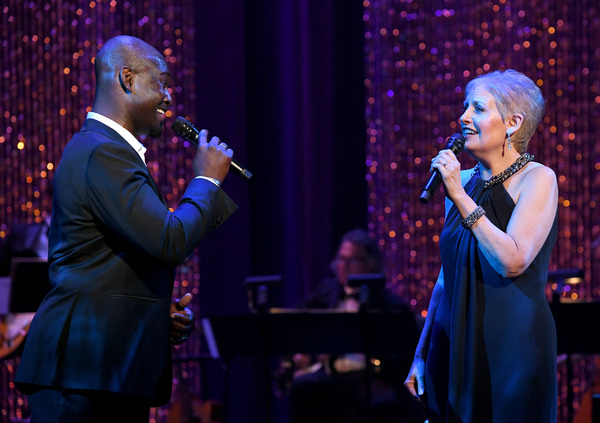 Isaiah Johnson and Liz Callaway