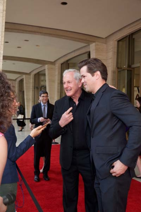Victor Garber and Andrew Rannells