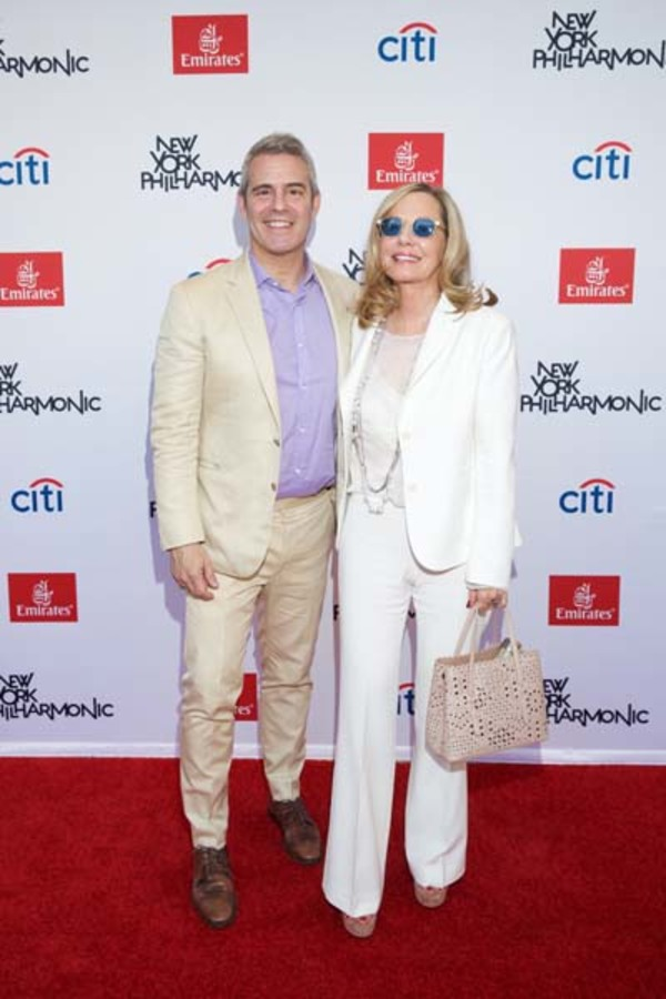 Andy Cohen and Jane Buffett Photo