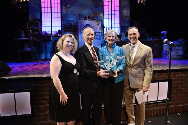 Managing Director Gretchen E. Butler, Doug and Florida Ellis, Artistic Director Tom K Photo