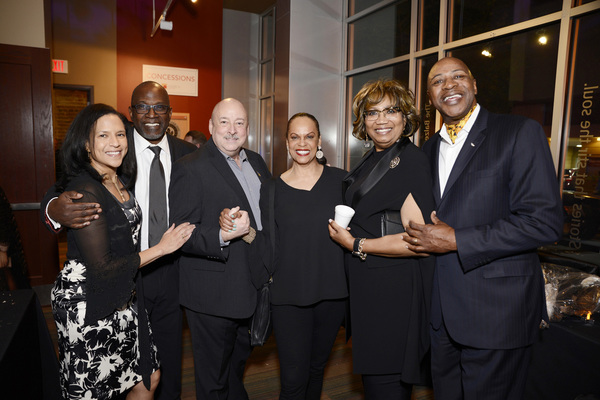 Susan and Alexander Johnson, William S. Murphey, Terry Burrell, and guests