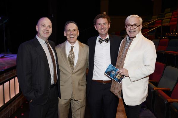 Adam Koplan, TO Artistic Director Tom Key, Trustee Charlie Henn, and Host Committee M Photo
